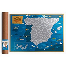 Mapa rascable España